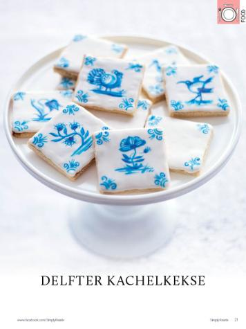 Rezept - Delfter Kachelkekse - Simply Kreativ Heft 02/2019