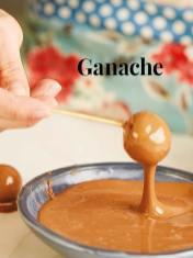 Rezept - Ganache - Simply Kreativ – Neue Rezepte für den Thermomix® 03/18