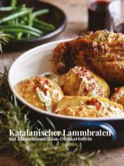 Rezept - Katalanischer Lammbraten mit Blauschimmelkäse-Ofenkartoffeln - Simply Kreativ – Neue Rezepte für den Thermomix® 03/18