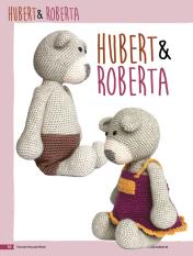 Häkelanleitung: Die süßen Bären Hubert und Roberta