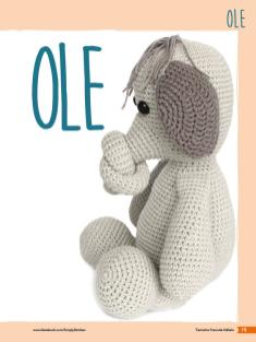 Häkelanleitung - Elefant Ole - Tierische Freunde häkeln 02/2018