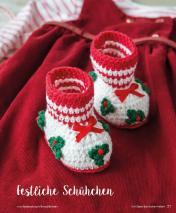 Häkelanleitung - Festliche Schühchen - Mini Häkeln Vol. 2