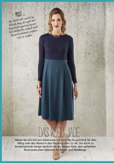 Nähanleitung - Das Kleid Jade - Simply Nähen - 03/2018