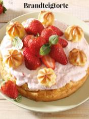 Rezept - Brandteigtorte - Simply Kreativ Erdbeeren- und Spargel-Rezepte für den Thermomix®