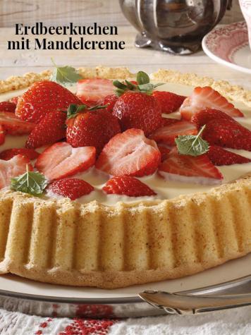 Rezept - Erdbeerkuchen mit Mandelcreme - Simply Kreativ Erdbeeren- und Spargel-Rezepte für den Thermomix®