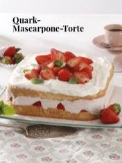Rezept - Quark-Mascarpone-Torte - Simply Kreativ Erdbeeren- und Spargel-Rezepte für den Thermomix®