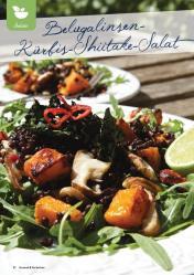 Rezept - Belugalinsen Kürbis-Shiitake-Salat - Gesund und fix mit dem Thermomix - 0418