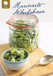 Rezept - Marinierte Ackerbohnen - Gesund & Fix mit dem Thermomix - 05/2018
