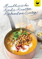 Rezept - Marokkanischer Kürbis-Karotten-Kichererbsen-Eintopf - Gesund und fix mit dem Thermomix - 0418