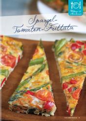 Rezept - Spargel-Tomaten-Frittata - Gesund und fix mit dem Thermomix - 0418
