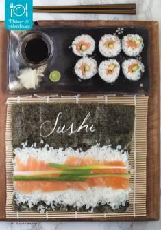 Rezept - Sushi - Gesund & Fix mit dem Thermomix - 05/2018
