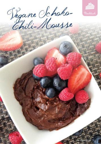Rezept - Vegane Schoko-Chili-Mousse - Gesund und fix mit dem Thermomix - 0418