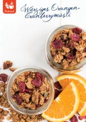 Rezept - Würziges Orangen-Cranberrymüsli - Gesund & Fix mit dem Thermomix - 05/2018