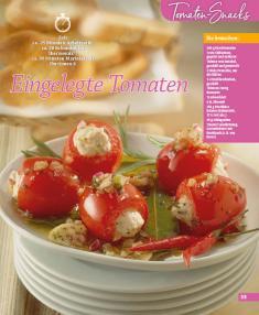 Rezept - Eingelegte Tomaten - Simply Kochen Mini - 0418