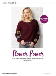 Häkelanleitung - Flower Power - Simply Häkeln - 05/2018