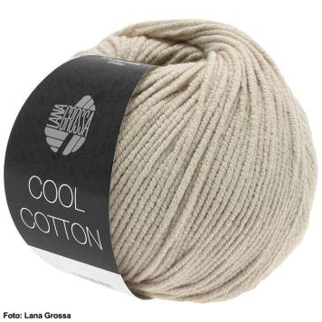 Lana Grossa Cool Cotton, ein Tuch spannen und häkeln