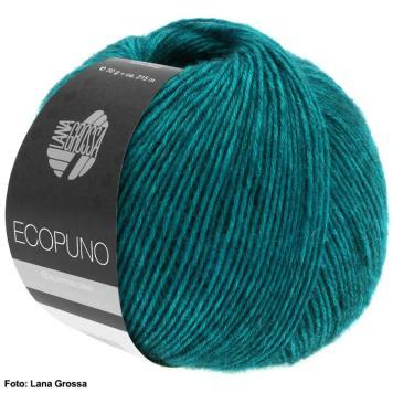 Lana Grossa Ecopuno, Tuch häkeln und spannen