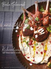 Rezept - Baba Ghanoush & Lammkoteletts & Kichererbsensalat - Simply Kreativ - Neue Rezepte für den Thermomix® - 04/2018