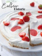 Rezept - Erdbeer-Eistorte - Simply Kreativ - Neue Rezepte für den Thermomix® - 04/2018