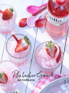 Rezept - Rhababer-Granite mit Erdbeeren - Simply Kreativ - Neue Rezepte für den Thermomix® - 04/2018