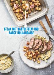Rezept - Steak mit Kartoffeln und Sauce-Hollandaise - Weekly Kochen Extra - 01/2018