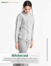 Strickanleitung - Abheben und Stricken - Fantastische Herbst-Strickideen - 04/2018