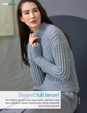 Strickanleitung - Doppelt hält besser - Fantastische Herbst-Strickideen - 04/2018