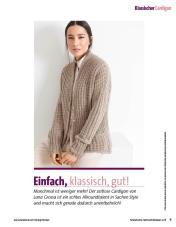 Strickanleitung - Einfach, klassisch, gut - Fantastische Herbst-Strickideen - 04/2018