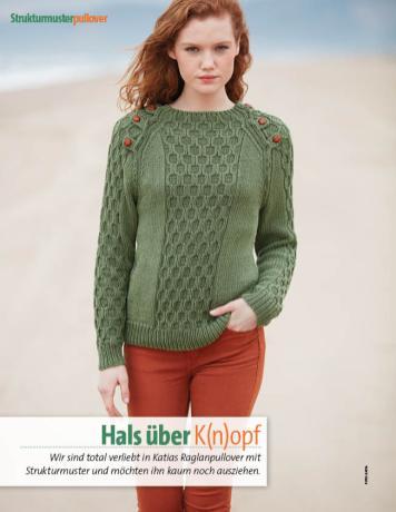 Strickanleitung - Hals über K(n)opf - Fantastische Herbst-Strickideen - 04/2018