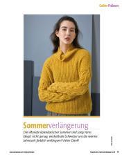 Strickanleitung - Sommerverlängerung - Fantastische Herbst-Strickideen - 04/2018