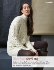 Strickanleitung - Über kurz oder lang - Fantastische Herbst-Strickideen - 04/2018