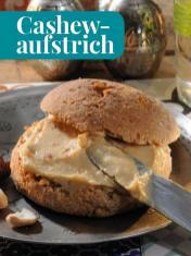Rezept - Cashewaufstrich - Simply Kreativ - Brot backen - Sonderheft - 01/2019