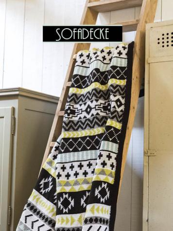 Häkelanleitung - Sofadecke - Simply Kreativ Fair Isle Häkeln 01/2018