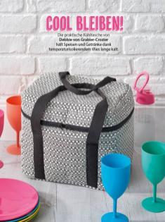 Nähanleitung - Cool bleiben - Simply Kreativ Geschenkideen + Accessoires Näh-Sonderheft 01/2018