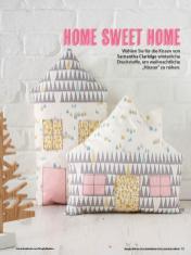 Nähanleitung - Home sweet home - Simply Kreativ Geschenkideen + Accessoires Näh-Sonderheft 01/2018