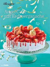 Rezept - Angel-Cake mit Erdbeerganache - Das große Backen - 09/2018