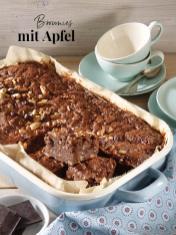 Rezept - Brownies mit Apfel - Simply Kreativ Äpfel-und Pflaumen-Rezepte für den Thermomix® 05/2018