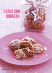 Rezept - Cranberry-Brocken - Simply Kochen Special Weichnachtsgebäck - 01/2018