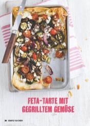 Rezept - Feta-Tarte mit Gemüse - Simply Kochen Mediterran 05/2018