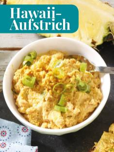Rezept - Hawaii-Aufstrich - Simply Kreativ - Brot backen - Sonderheft - 01/2019
