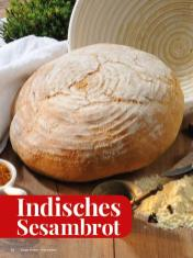 Rezept - Indisches Sesambrot - Simply Kreativ - Brot backen - Sonderheft - 01/2019