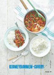 Rezept - Kidneybohnen-Curry - Simply Kochen Suppen & Eintöpfe 01/2018