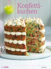 Rezept - Konfetti-Kuchen - Das große Backen - 09/2018