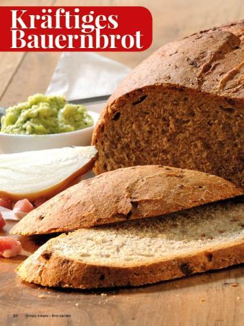 Rezept - Kräftiges Bauernbrot - Simply Kreativ - Brot backen - Sonderheft - 01/2019
