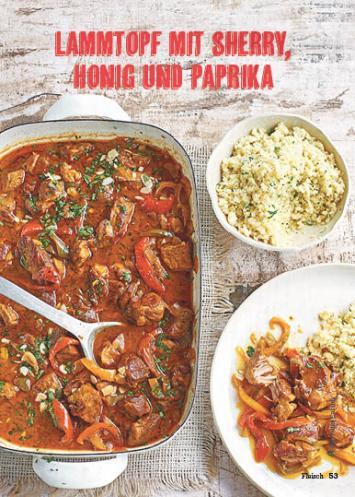 Rezept - Lammtopf mit Sherry-Honig und Paprika - Simply Kochen Mediterran 05/2018