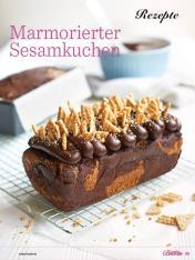 Rezept - Marmorierter Sesamkuchen - Das große Backen - 09/2018
