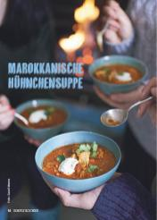 Rezept - Marokkanische Hühnchensuppe - Simply Kochen Suppen & Eintöpfe 01/2018