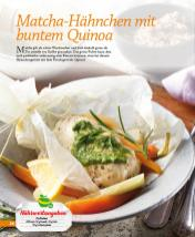 Rezept - Matcha-Hähnchen mit buntem Quinoa - Simply Kochen mini – Rezepte für den Thermomix® 05/18