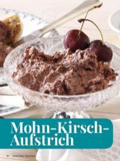 Rezept - Mohn-Kirsch-Aufstrich - Simply Kreativ - Brot backen - Sonderheft - 01/2019