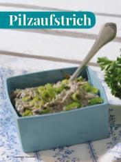 Rezept - Pilzaufstrich - Simply Kreativ - Brot backen - Sonderheft - 01/2019
